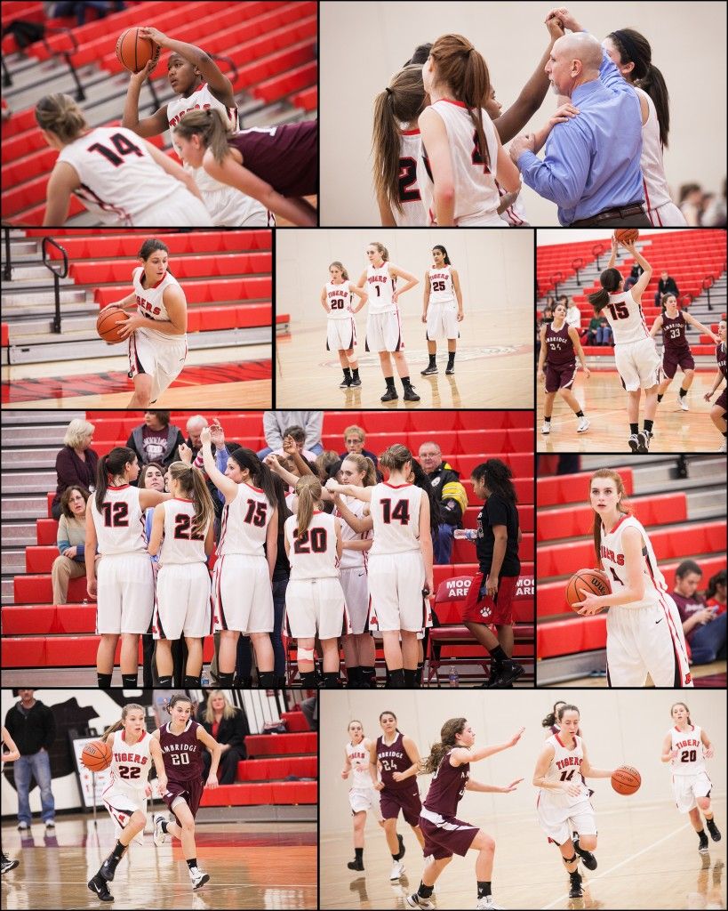 Ladies Basketball Collage 2