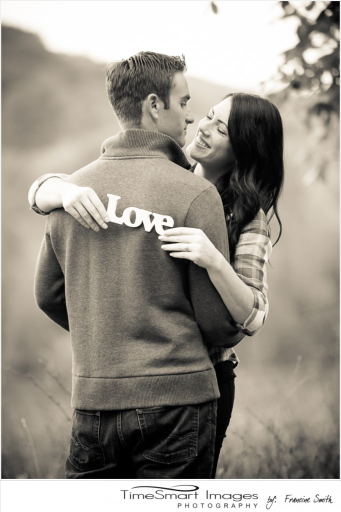 fall engagement with love