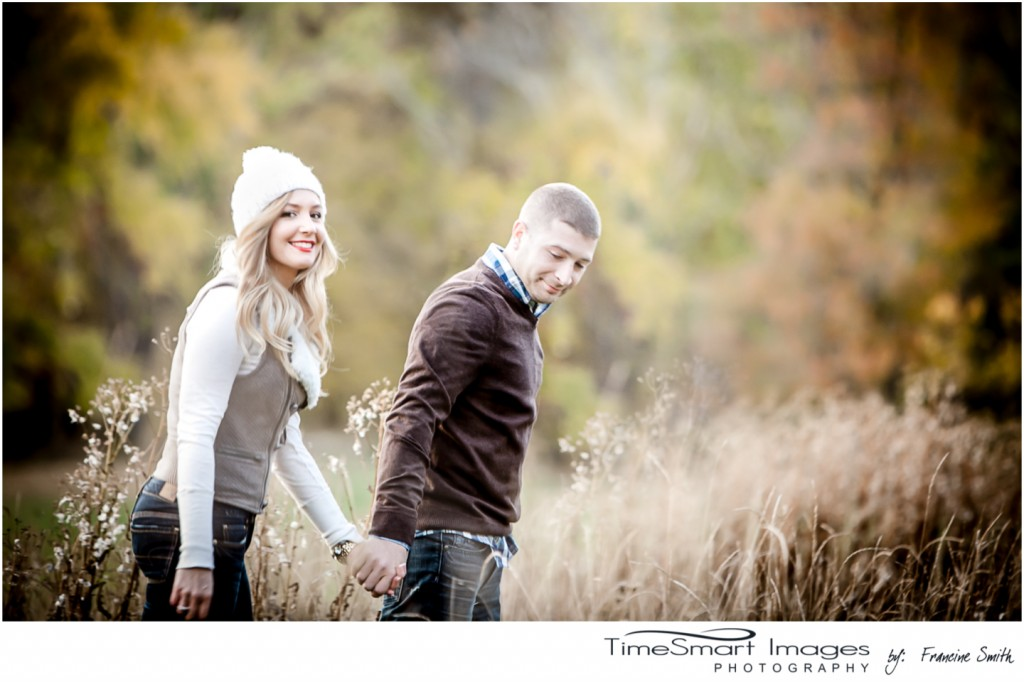 walking in tall grass engagement