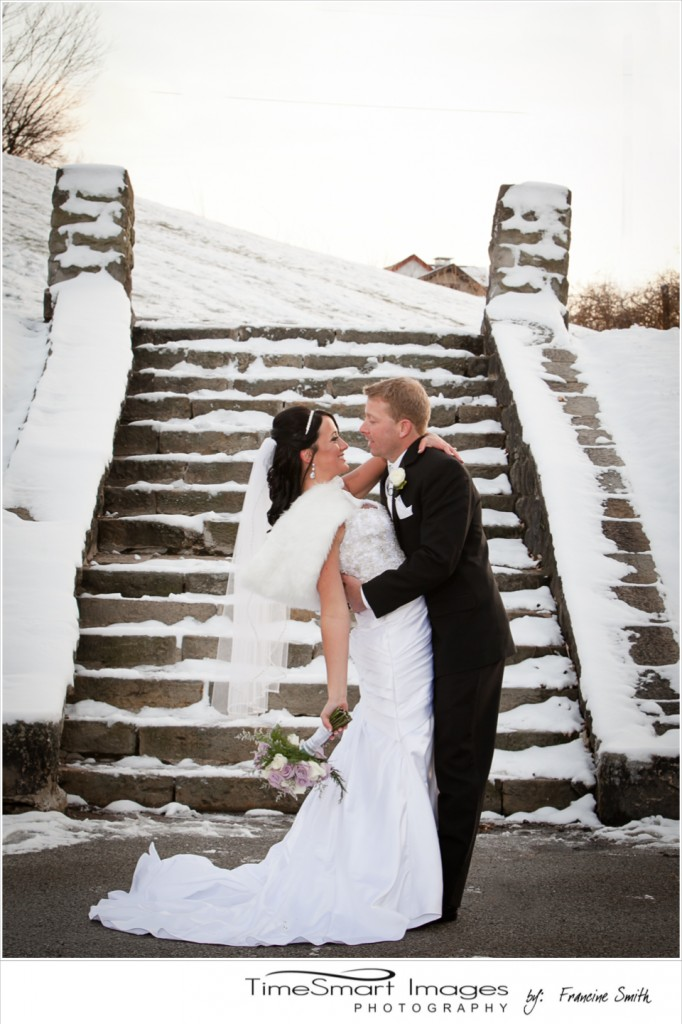 Pittsburgh Grandview Park Winter Wedding