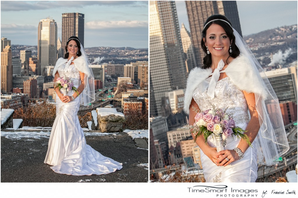 Pittsburgh Mount Washington Wedding, Bride