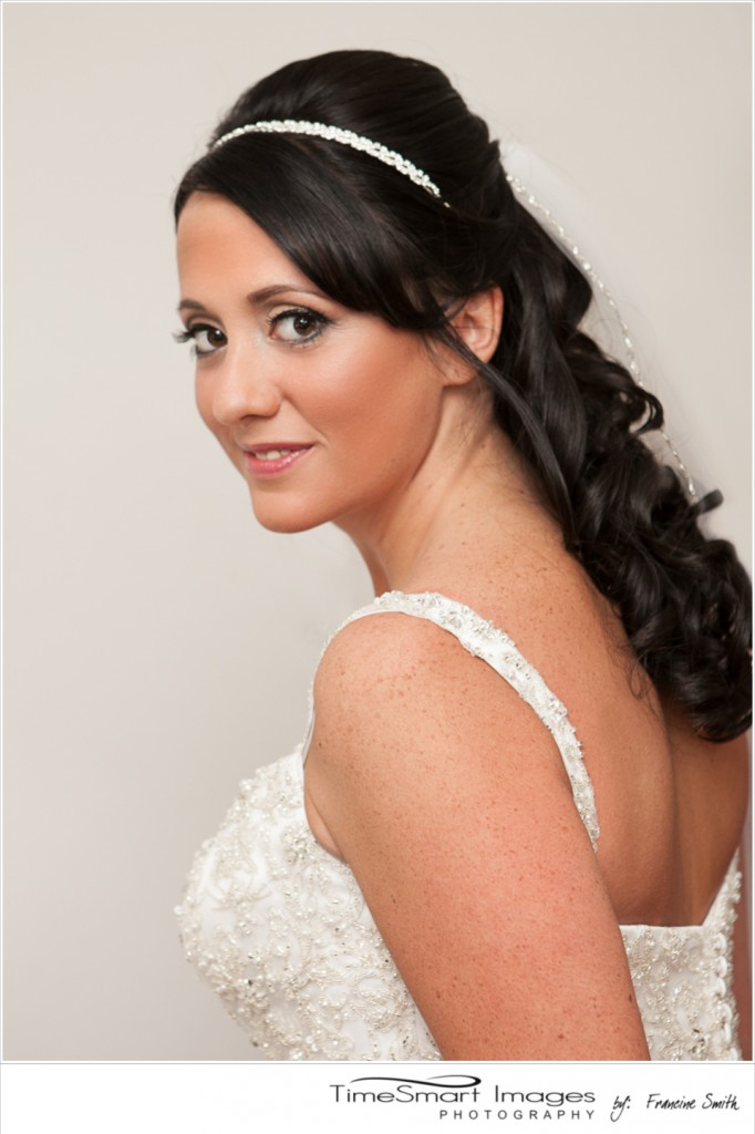 bride getting-ready portrait