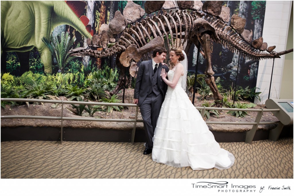 musuem of dinosaurs wedding