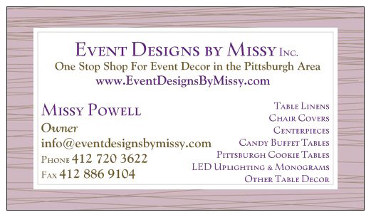 Event Designs by Missy