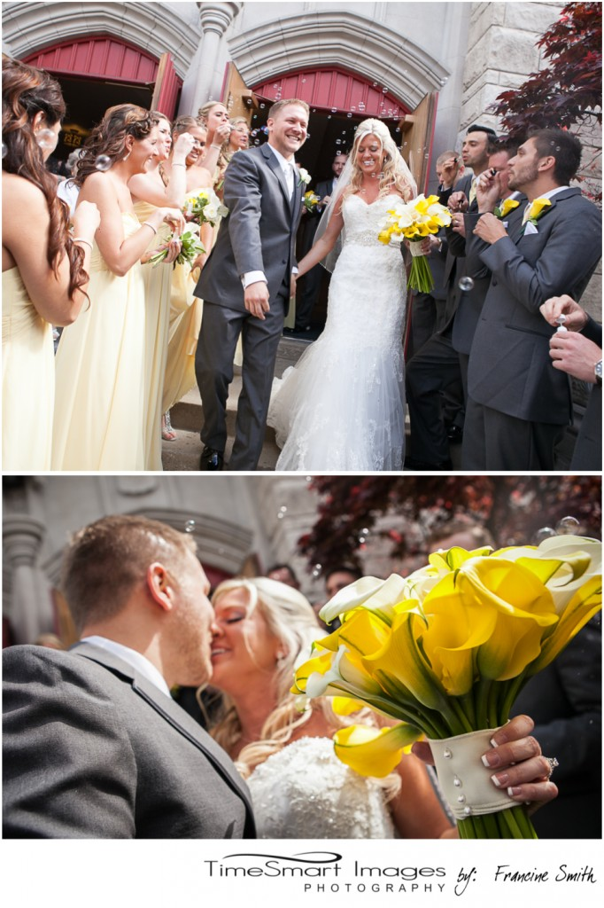 Pittsburgh Wedding with Bubbles