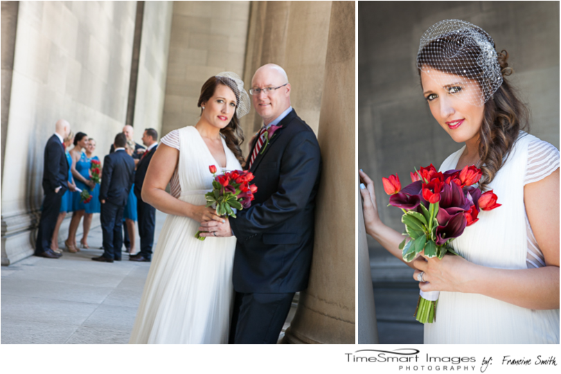Mellon Institute Bride and Groom