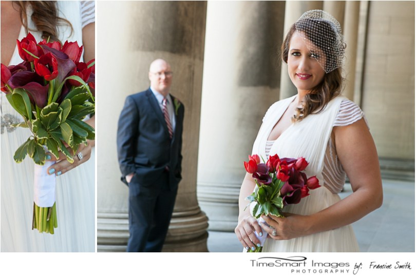 Mellon Institute_bride and groom