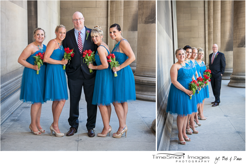 Mellon institute groom with his girls