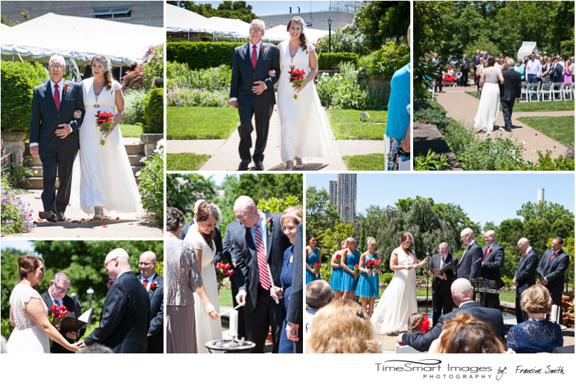 Phipps Conservatory Outdoor Garden Wedding