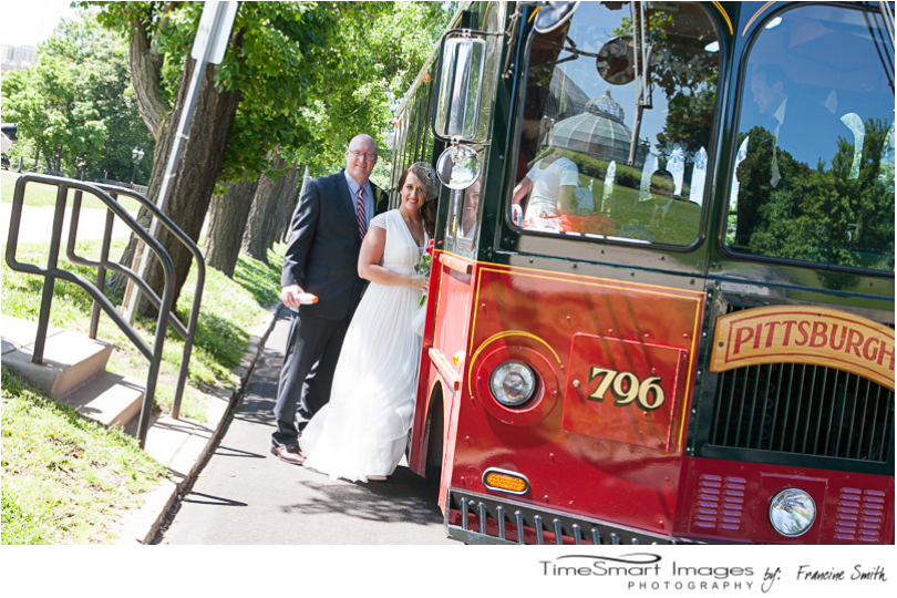 Pittsburgh Molly's Trolley's Wedding