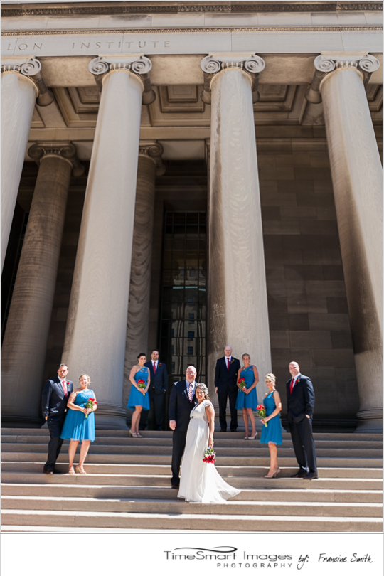 Pittsburgh Wedding Mellon Institute