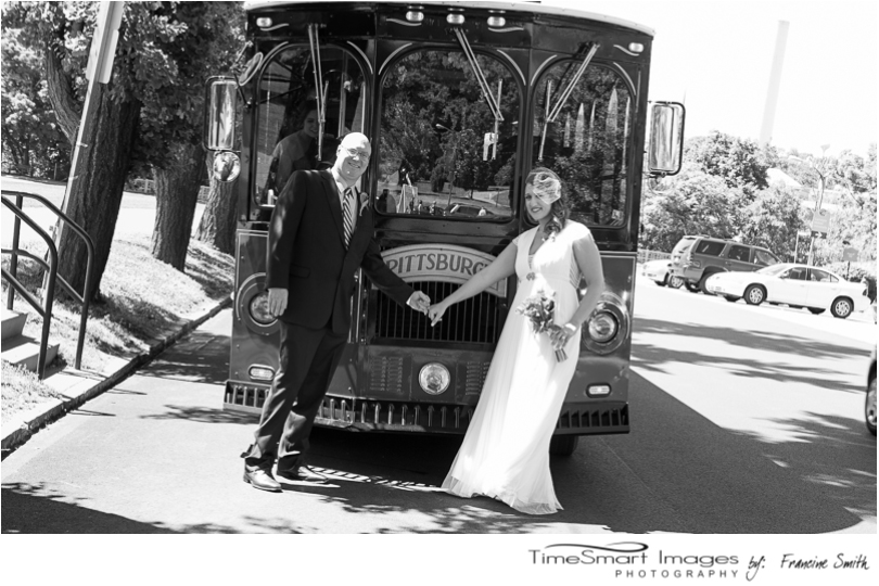 Pittsburgh Wedding Molly's Trolley's