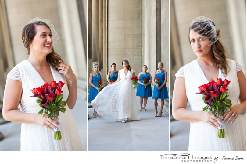 Pittsburgh's Mellon Institute Bridal Portraits