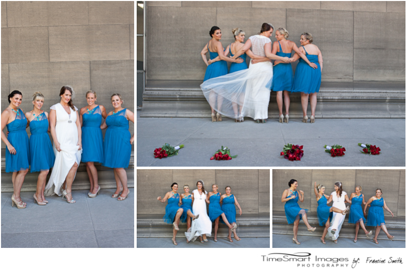 Pittsburgh's Mellon Institute Bride and her girls