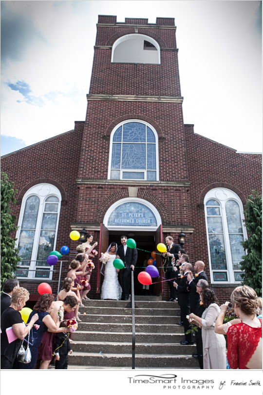 St. Peter's Reformed Church, Balloons