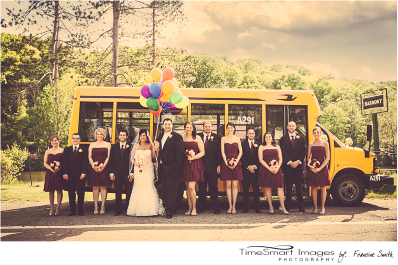 UP Themed Pittsburgh Wedding