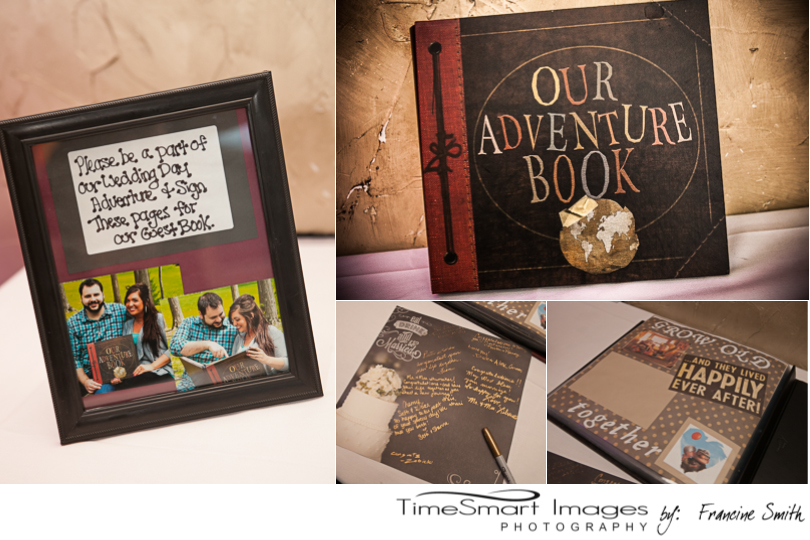 UP Themed Wedding, Adventure Book