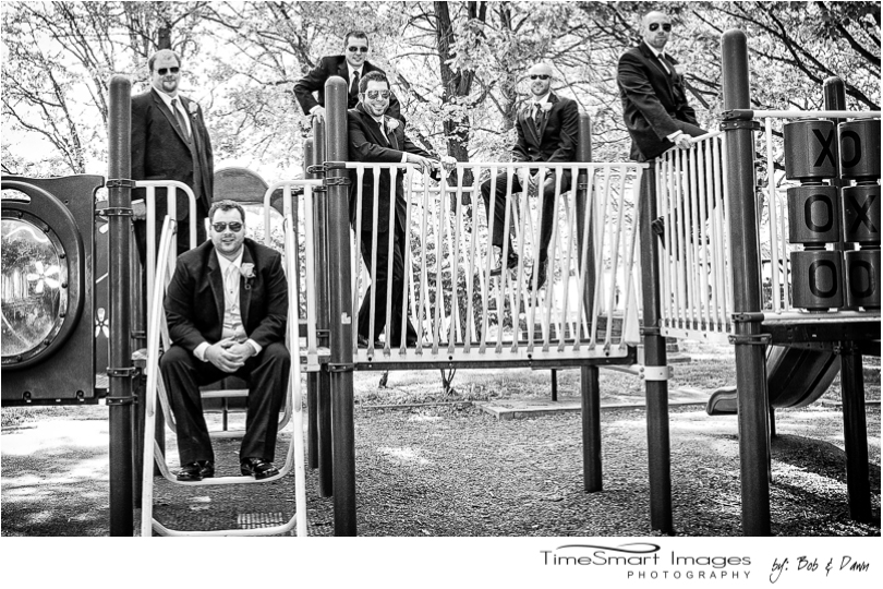 the Groom and his Guys, Wedding Playground