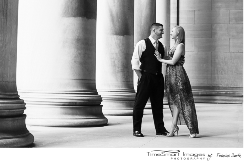 engagement in mellon institute b&w