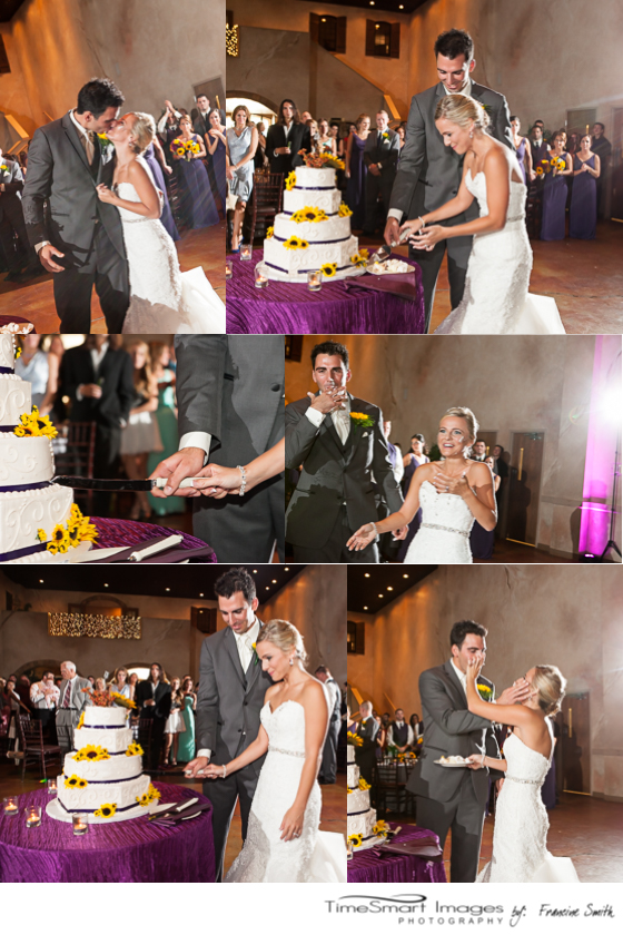 bella sera wedding_canonsburg_cutting the cake