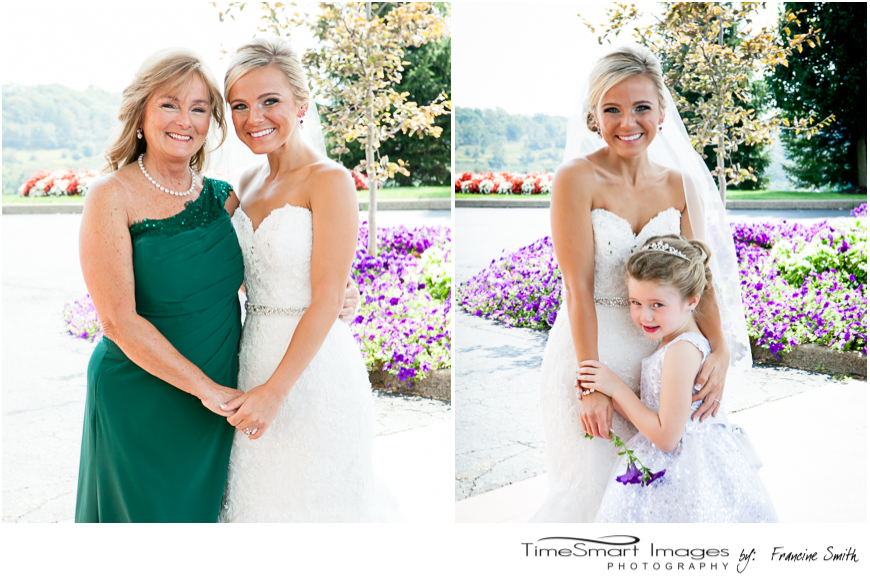 bride and mom_bride and flower girl