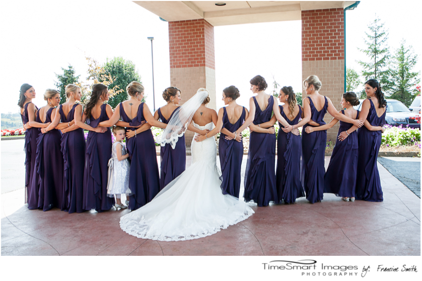 bridesmaids_back of dresses_purple gowns