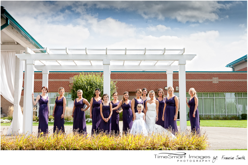 bridesmaids_purple gowns