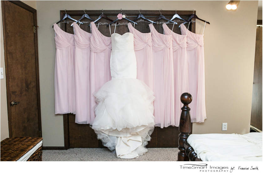 Aubrey_wedding dress and bridesmaids gowns