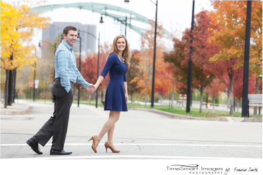 Nikki & Ryan_Pittsburgh City Engagement