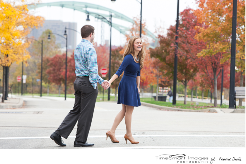 Nikki & Ryan_Rainy City Fall Engagement
