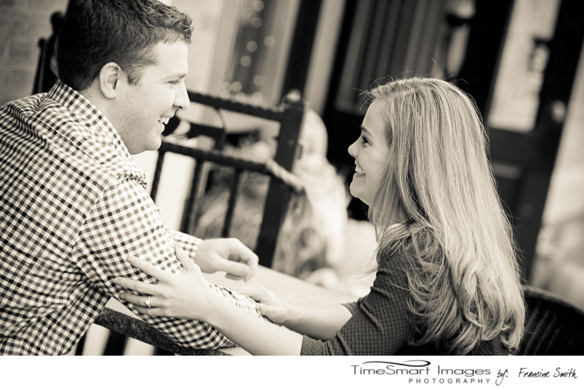 Nikki and Ryan _cafe engagement