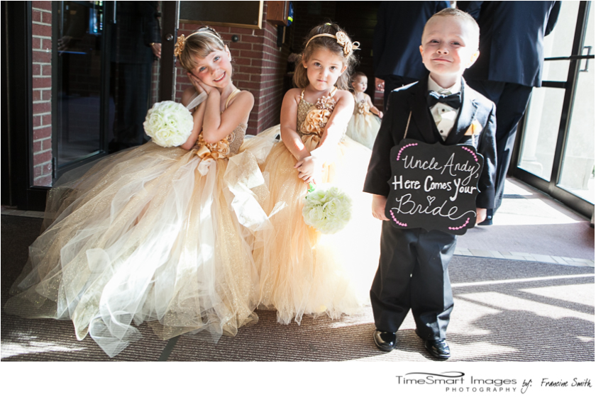 aubrey_tutu flower girls dresses_ring bearer with sign