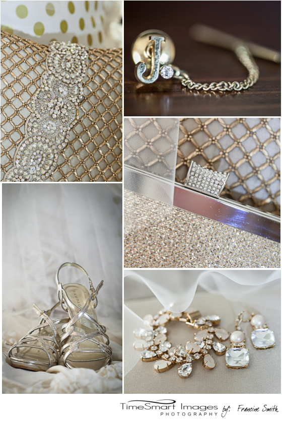 wedding gold details