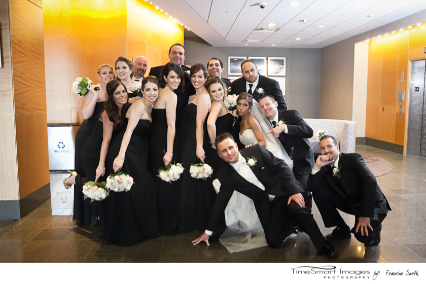 Daniele & Christopher with Wedding Party