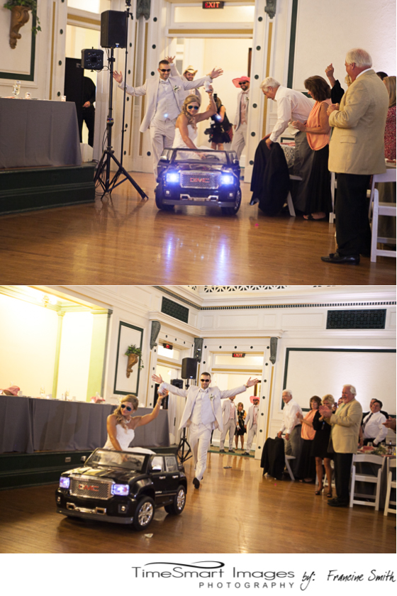 Bridal Enterance_remote car