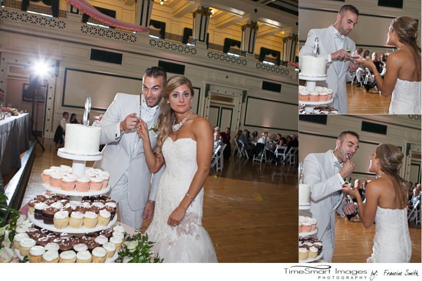 Lindsey & Johnny_Cut the Cupcake Cake