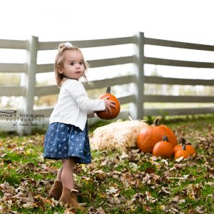 Pumpkins and Little ones