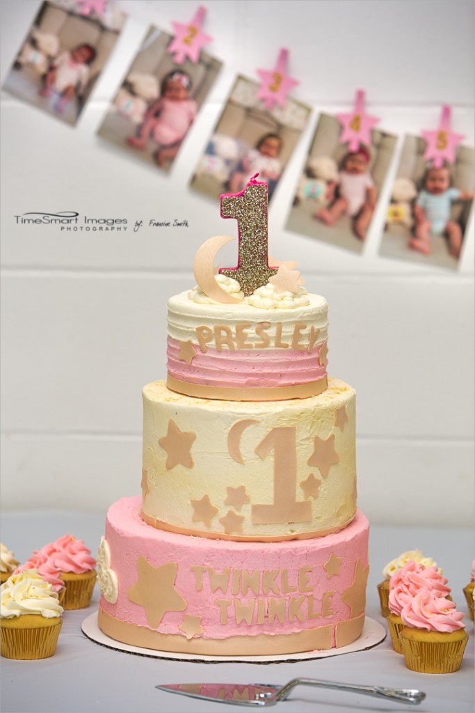 P_1st Birthday Party_Pink & Gold 1