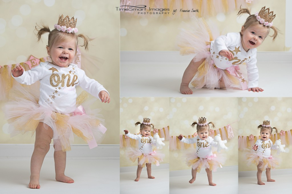 Twinkle Twinkle Little Star_Pink & Gold Tutu_Crown_First Birthday_Pittsburgh